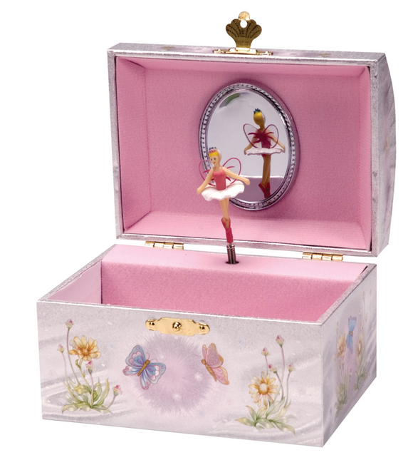 IRIDESCENT FAIRY JEWELRY BOX