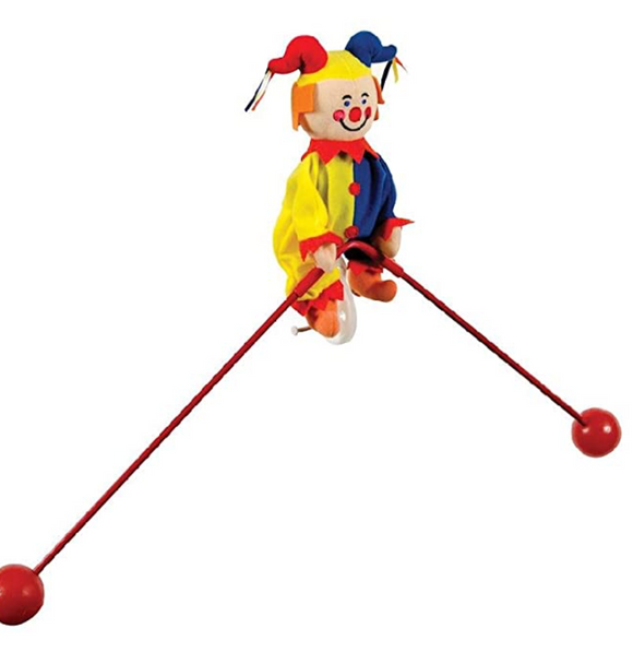 Balancing Jester Toy