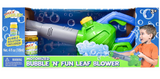 Leaf bubble blower