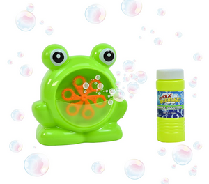 Green Frog Bubble Machine
