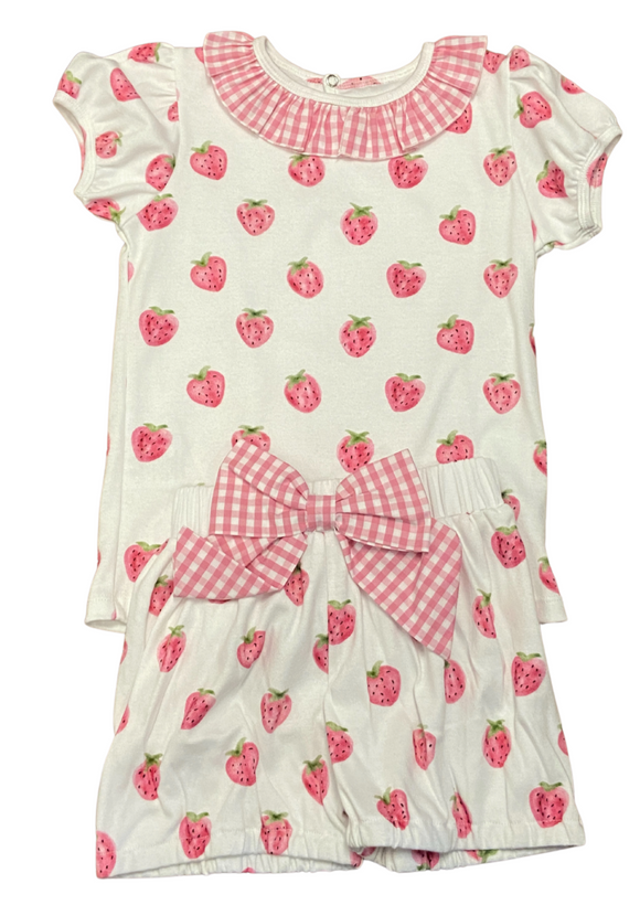 Berry Precious shorts set