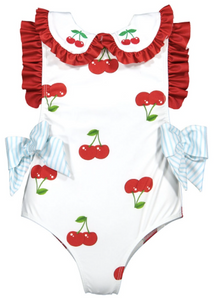 CHERRY ON SWIMSUIT