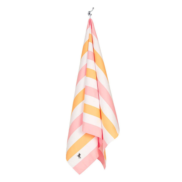 Dock & Bay Quick Dry Beach Towel - Summer - Peach Sorbet