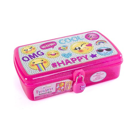 Emoji Treasure School Box