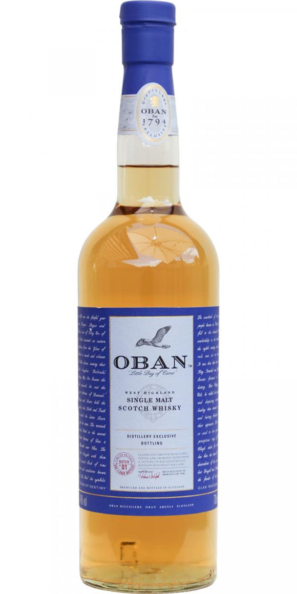 Oban distillery limited 2018