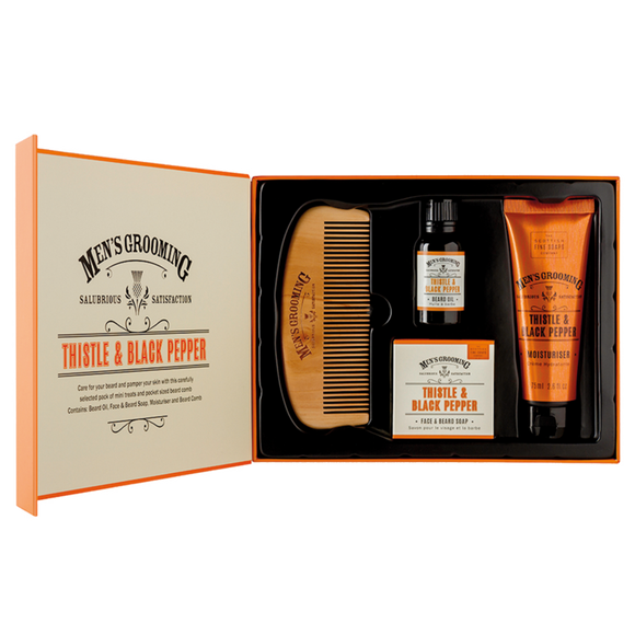 Men's Grooming Bartpflege Set