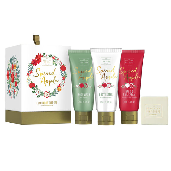 Scottish Fine Soaps Spiced Apple Geschenk-Set