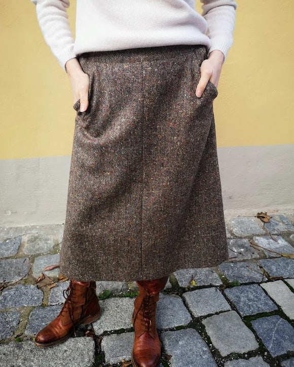 British House Rock Bella Brown Tweed