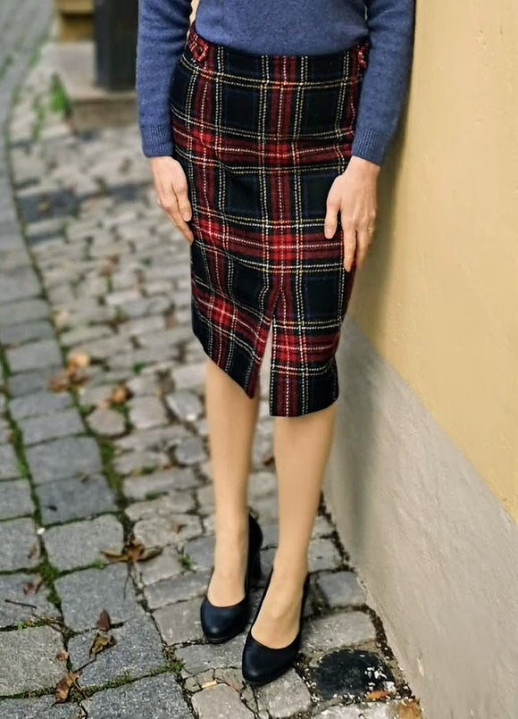 British House Rock Bella Tartan