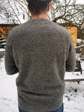 Pumice Possum Merino Pullover - Noble Wilde of New Zealand