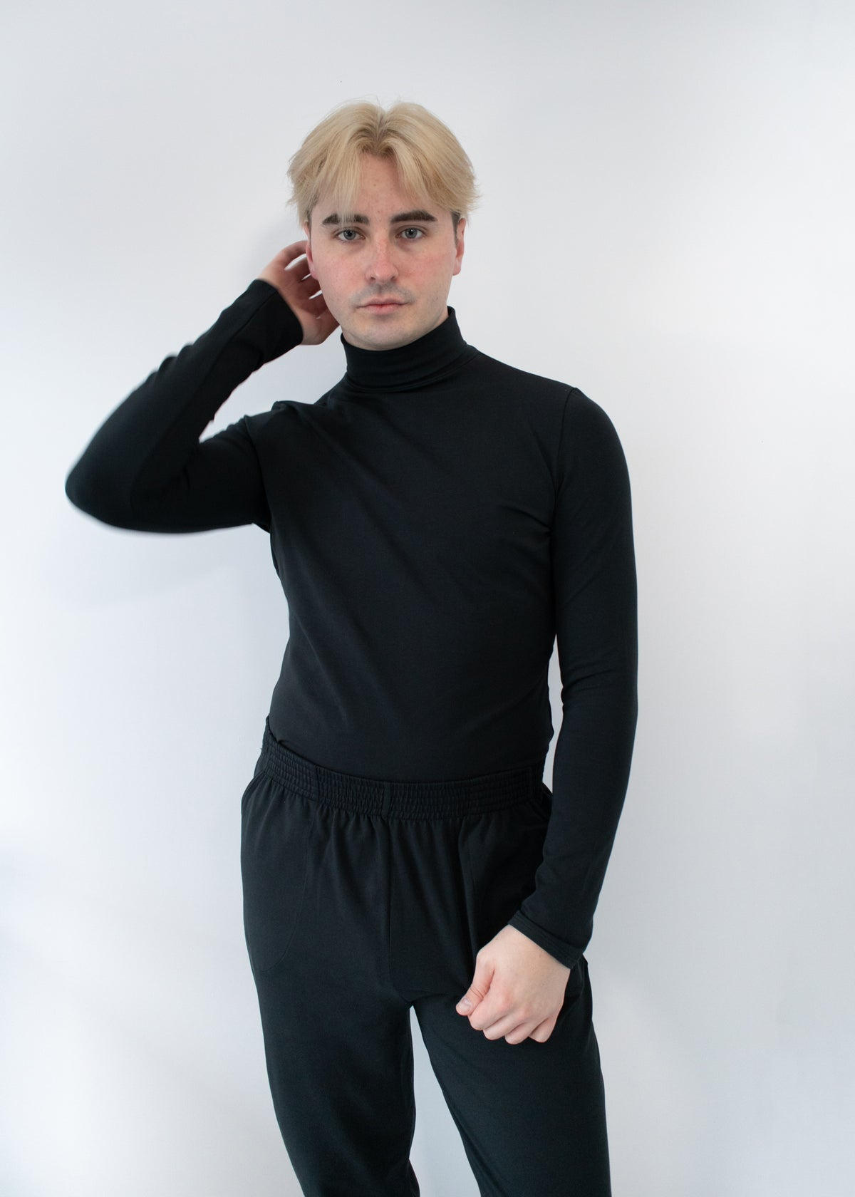 Stretch Turtleneck Coal - XS, S, M