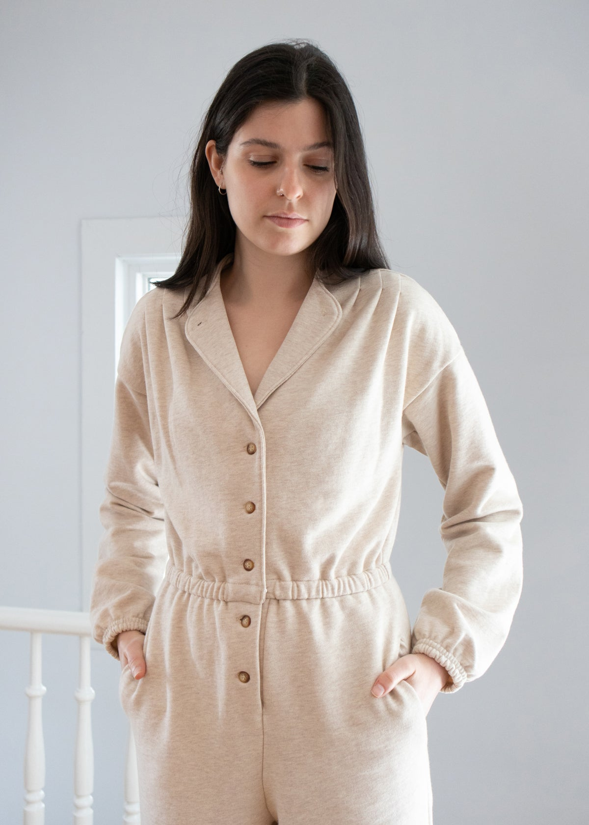 Jumpsuit Oatmeal