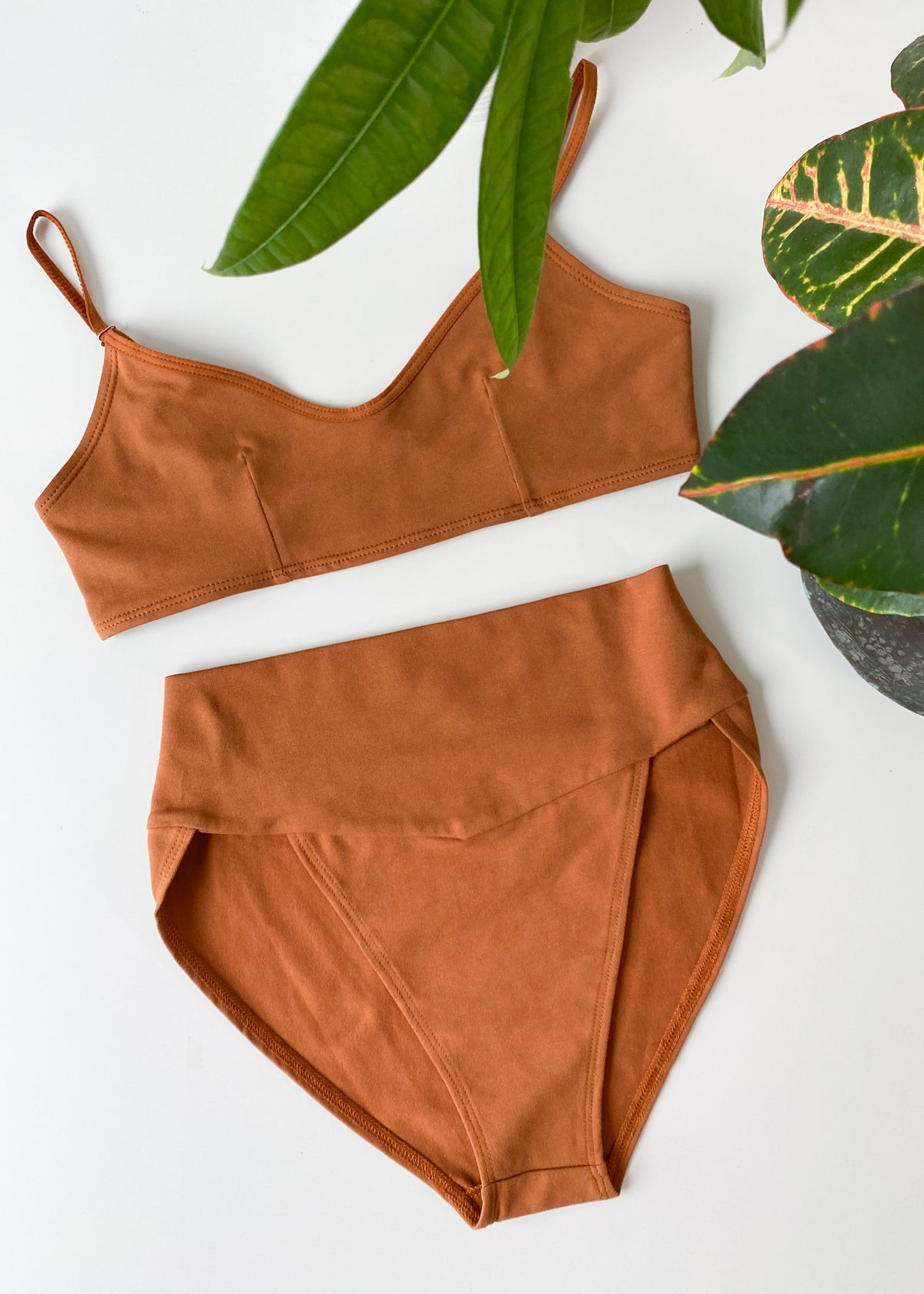 High Cut Brief Pecan