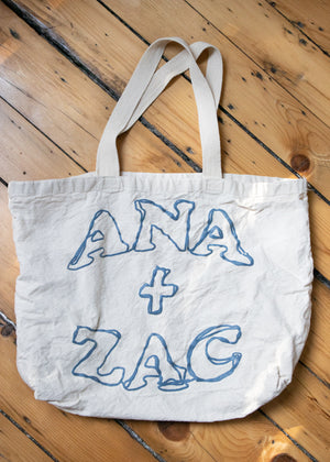 Load image into Gallery viewer, A+ Z Logo Tote