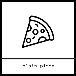 plain.pizza