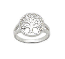 Tree of Life Ring 925 Sterling Silver SIZE 7
