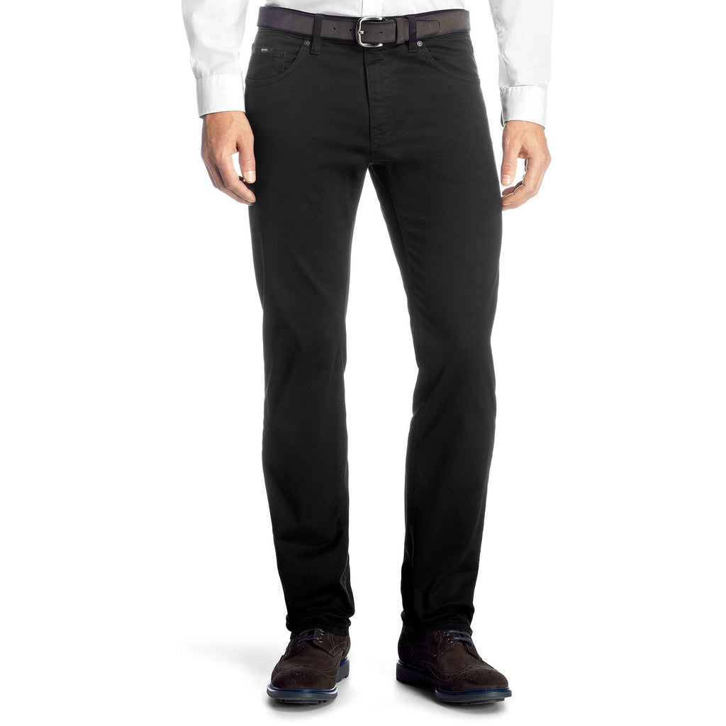 fda425ca Hugo Boss Maine Regular Fit Jeans - Black – WowsersTrousers