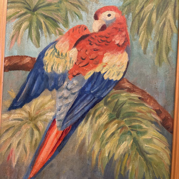 25X20 PARROT PAINTING