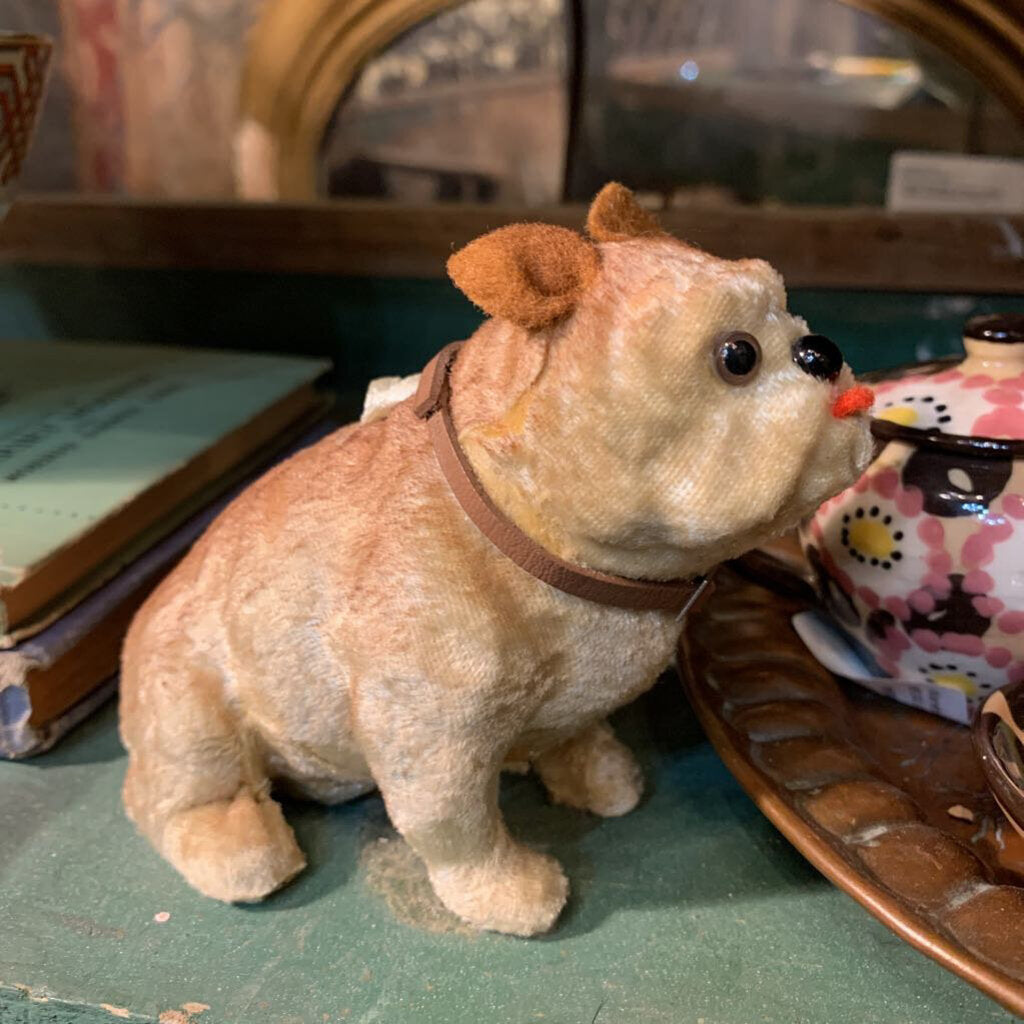 Stuffed vintage dog 2