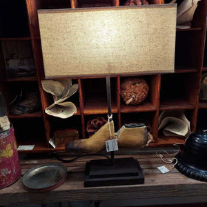 Reproduction Shoe Lamp