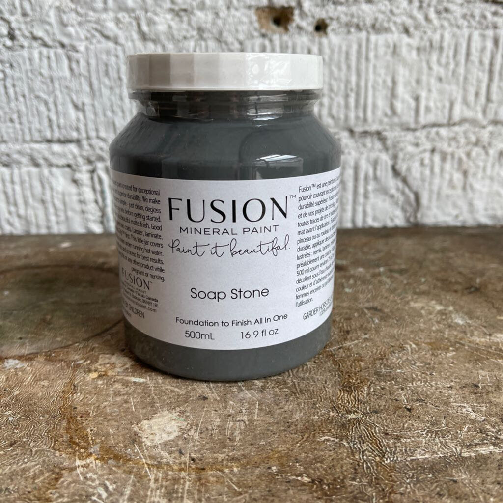 FUSION MINERAL PAINT. SOAPSTONE