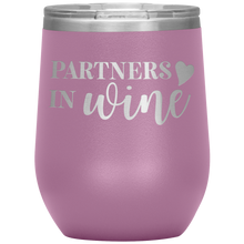 Load image into Gallery viewer, Partners In Wine Wine Tumbler