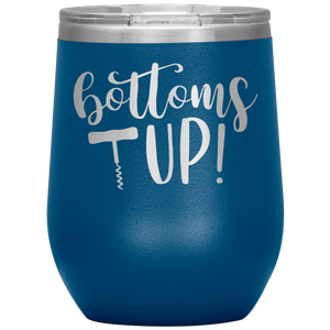Bottoms Up Wine Tumbler