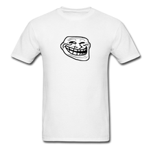 Load image into Gallery viewer, Troll Face - white