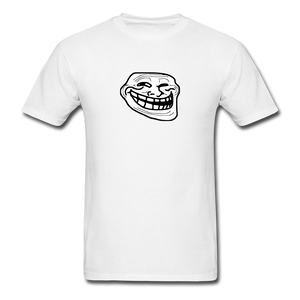 Troll Face - white