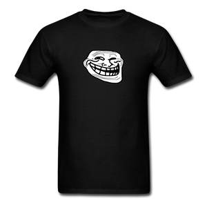 Troll Face - black