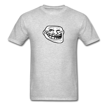 Load image into Gallery viewer, Troll Face - heather gray