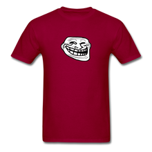 Load image into Gallery viewer, Troll Face - dark red