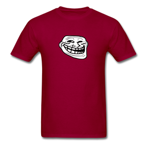 Troll Face - dark red
