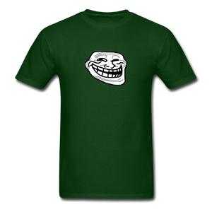 Troll Face - forest green
