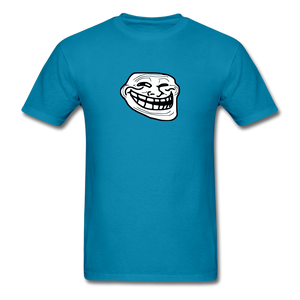 Troll Face - turquoise