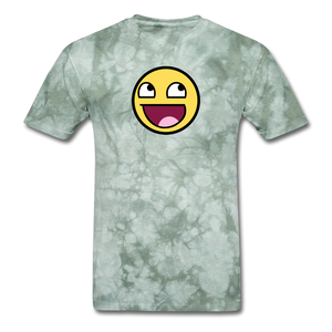 Awesome! - military green tie dye