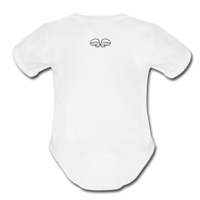 Load image into Gallery viewer, Hi I'm New Here Baby Bodysuit - white