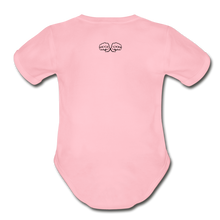 Load image into Gallery viewer, Hi I'm New Here Baby Bodysuit - light pink