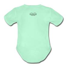 Load image into Gallery viewer, Hi I'm New Here Baby Bodysuit - light mint