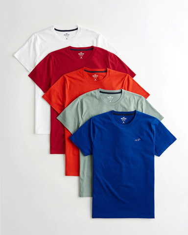 Crewneck T-Shirt 5-Pack