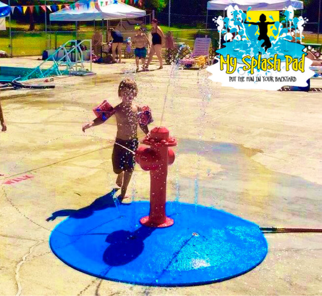 Looking for backyard fun? Portable Splash Pad Products