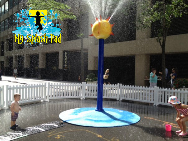 It all began with a Portable Splash Pad for Banana Boat!