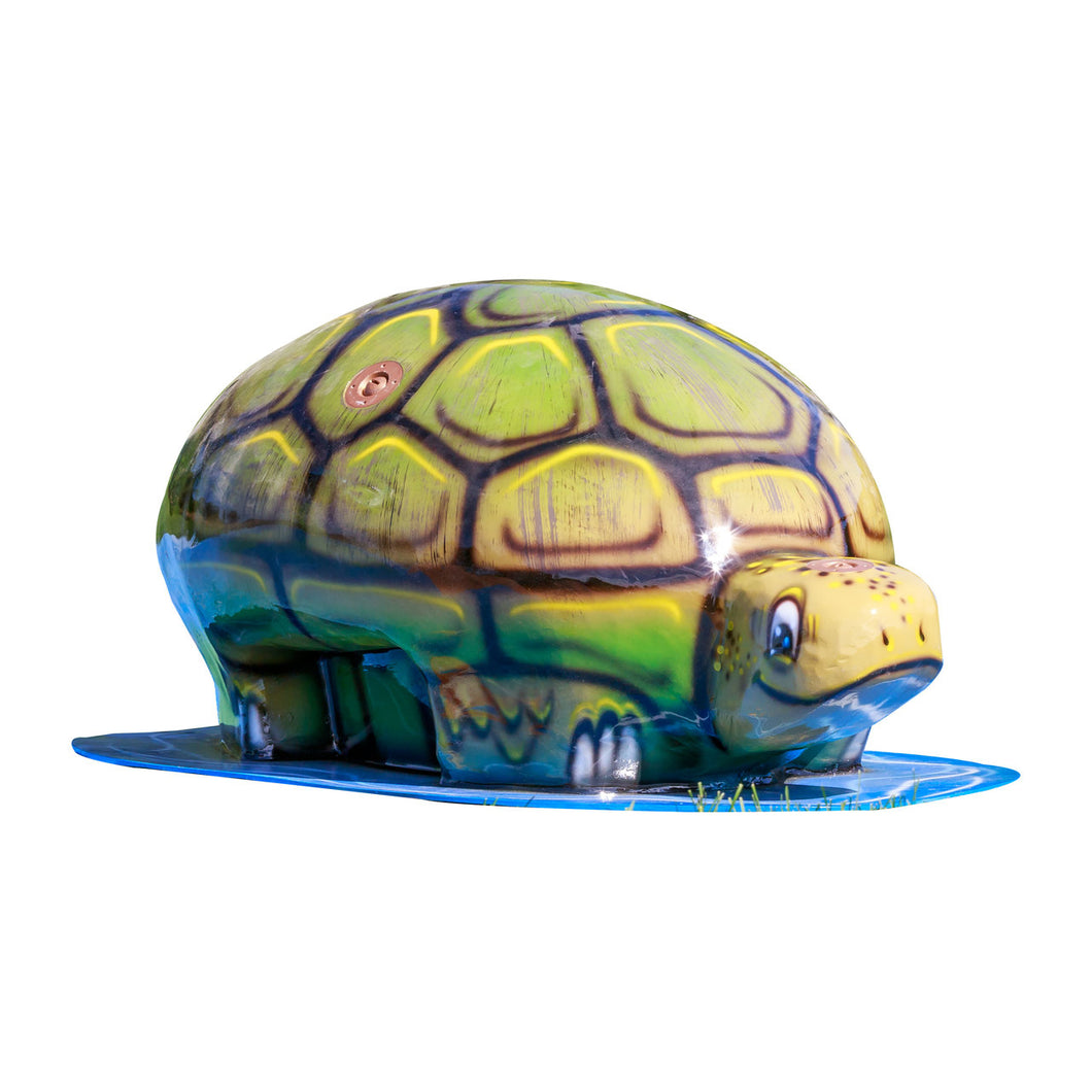 Medium Turtle Mobile Spray and Play Features