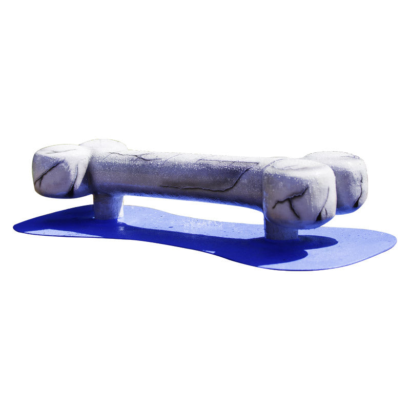 Dog Bone Water Play Features
