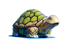 Load image into Gallery viewer, Large Turtle Mobile Spray and Play Features