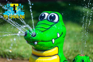 Alligator Mobile Spray and Play Features