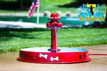 Load image into Gallery viewer, Dog Bowl With Hydrant Water Play Features
