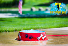 Load image into Gallery viewer, Dog Bowl Water Play Features