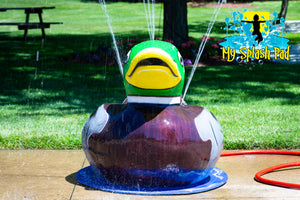 Duck Mobile Spray and Play Features