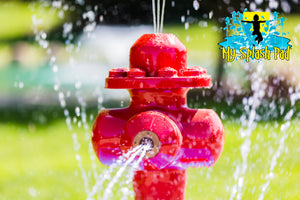 Fire Hydrant Portable Splash Pad Water Play Features